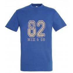T-shirt enfant 82 royal