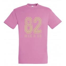 T-shirt enfant 82 rose