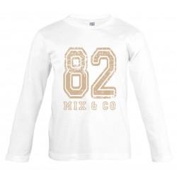 T-shirt enfant 82 blanc...