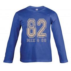 T-shirt enfant 82 bleu...