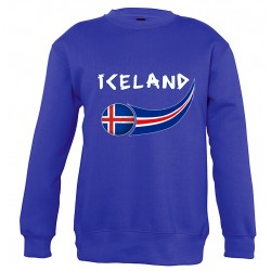 Sweatshirt enfant Islande