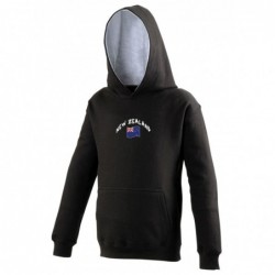 Sweat capuche bicolore...