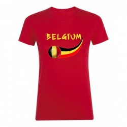 T-shirt Belgique femme