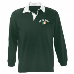 Polo manches longues Irlande
