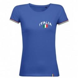 T-shirt femme Italie supporter