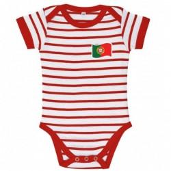 Body bébé rayé Portugal