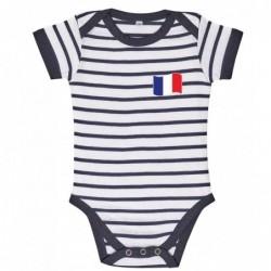 Body rayé bébé France