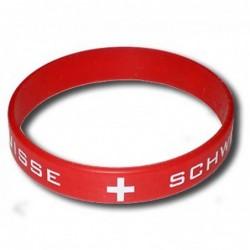 Bracelet silicone Suisse