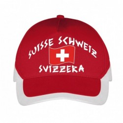 Casquette Suisse