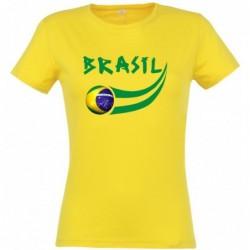 T-shirt Brésil femme