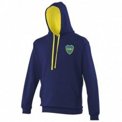 Sweat bicolore Boca Juniors