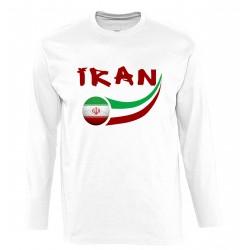 T-shirt manches longues Iran