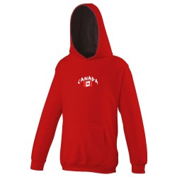 Sweat capuche enfant Canada