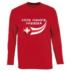 T-shirt manches longues Suisse