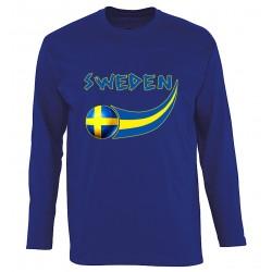 T-shirt manches longues Suède