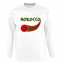 T-shirt manches longues Maroc