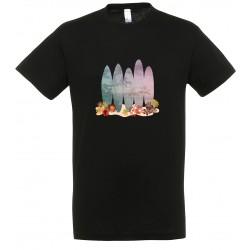 T-shirt enfant surf noir